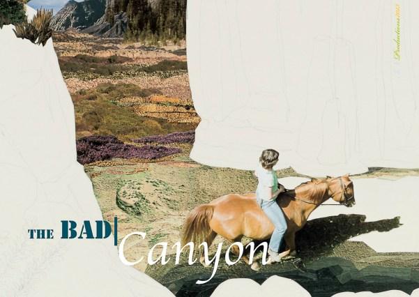 Souvenirpostkarte (The Bad/Canyon), 2013