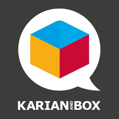 Karian and Box Logo Square