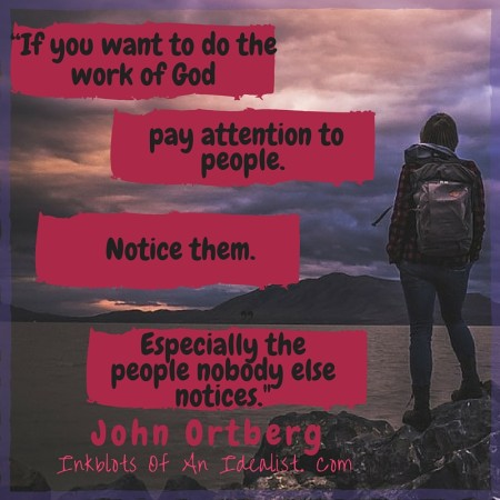 """""""If you want to do the work of God"""