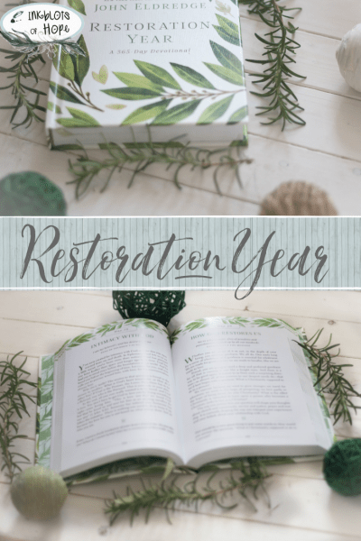 Restoration Year's purpose is to bring you succinct devotional entries to transform and heal your life. #Restoration #RestorationYear #JohnEldredge #ChristianDevotional