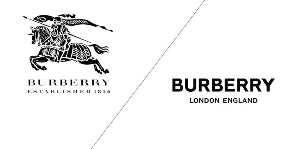 Burberry Rebrand Logo Design