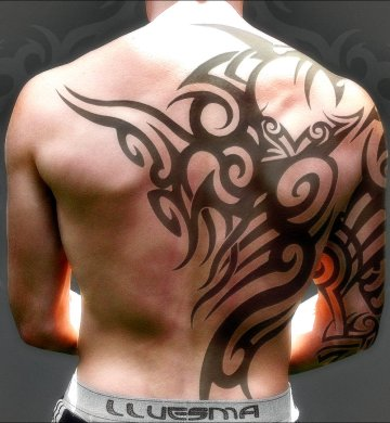 tribal tatoos for back