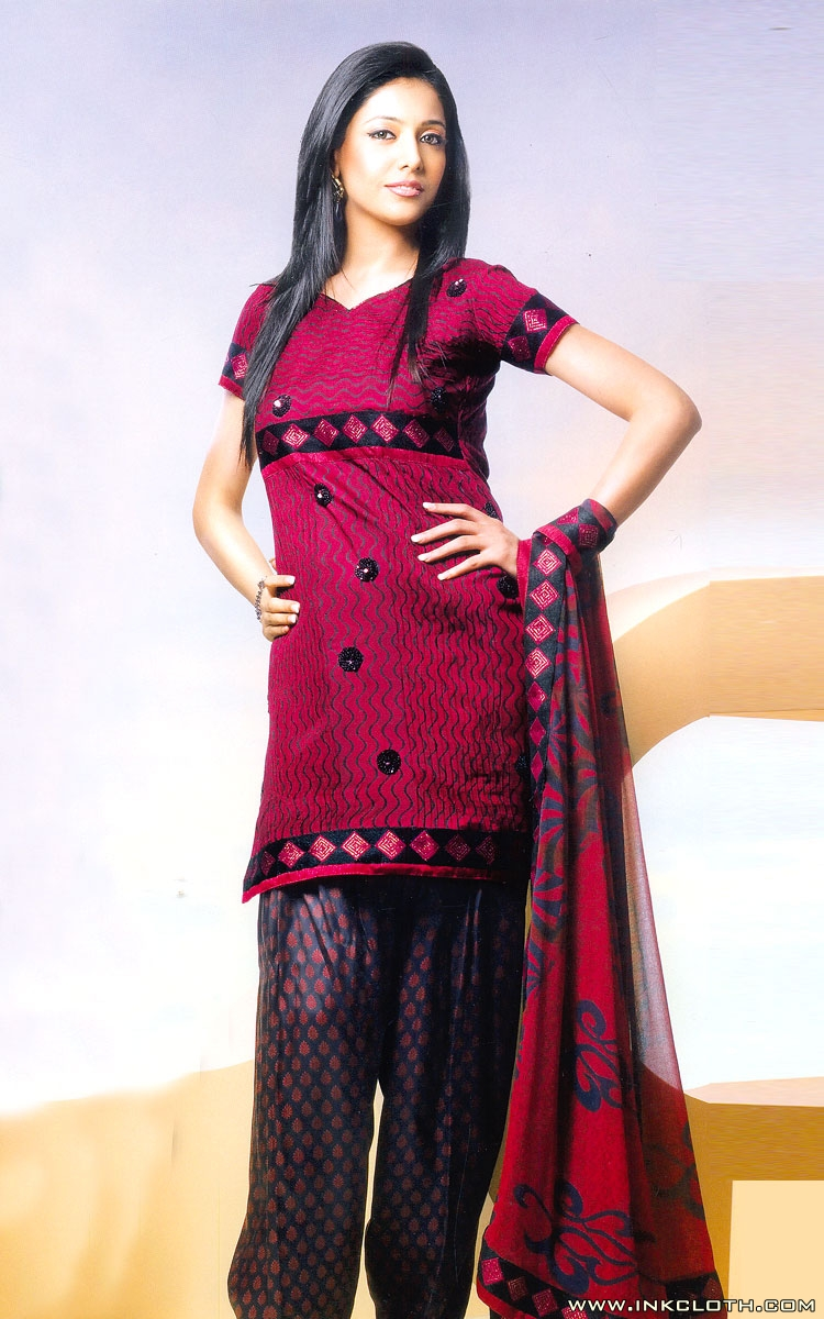 Latest punjabi suits for girls 2012 inkcloth for Girls suit design