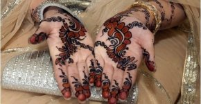 deep mehandi color