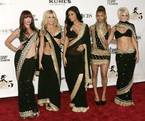 Latest Fashionable Sari for Girls