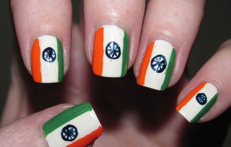 Flag Nail Art Ideas