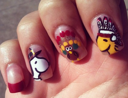 nail-art-cartoon-design-ideas