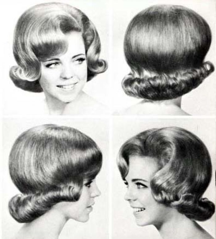 1960s Hairstyles 17 - Inkcloth