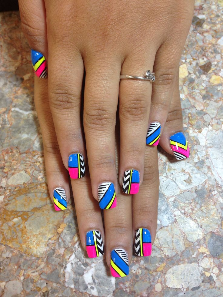Freehand Nail Art Designs 2 - Inkcloth