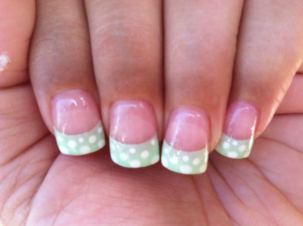 French Tip Nail Art Ideas 14 - Inkcloth