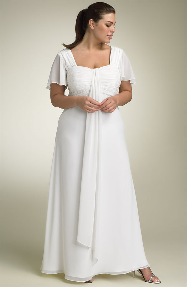 Plus Size Bridesmaid Dresses With Sleeves Inkcloth