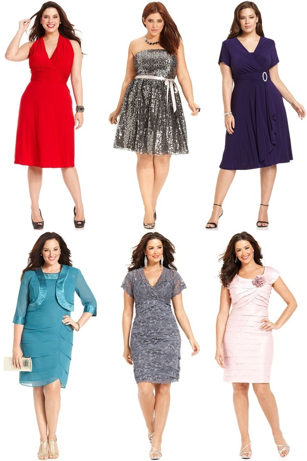 Plus Size Dresses For Wedding Guests - Inkcloth