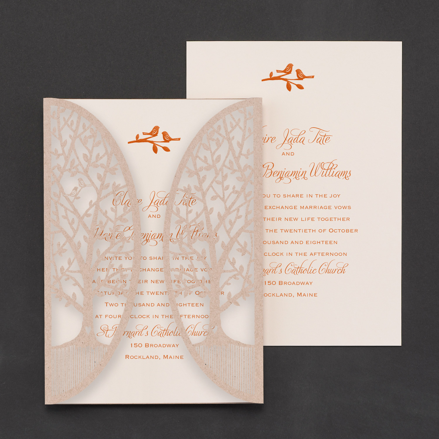 Wedding invitations inkcorporated designs garden gate monicamarmolfo Image collections