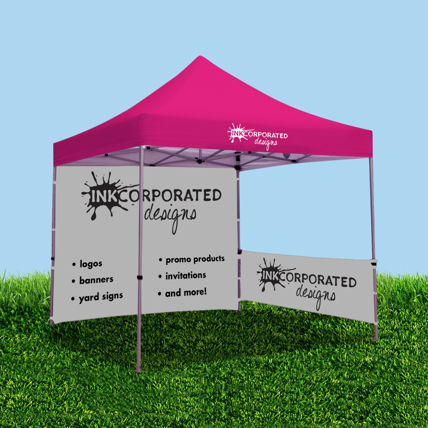 Tent  sc 1 st  INKcorporated Designs & Signs u0026 Banners - INKcorporated Designs