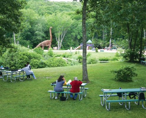 Dinosaur Park at Natures Art Center