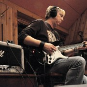 Paul Nelson In the studio with Johnny Winter