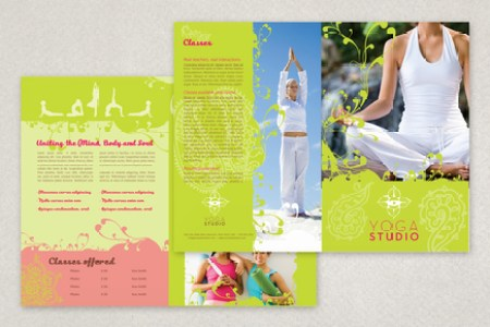 Contemporary Yoga Brochure Template   Inkd Contemporary Yoga Brochure Template  Medium contemporary yoga brochure template 1