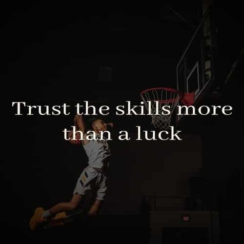cool basketball quote for instagram