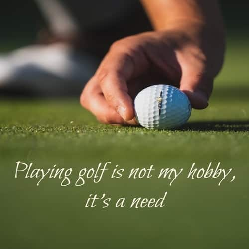 Golf quote for ladies
