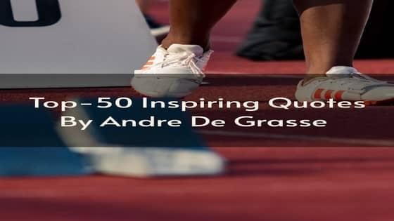 Andre De Grasse Quotes