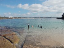 Lovely warm, clear water