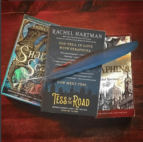 Podcast Episode 7: Throwback interview with Christopher Paolini and Rachel Hartman and INTERNATIONAL giveaway!