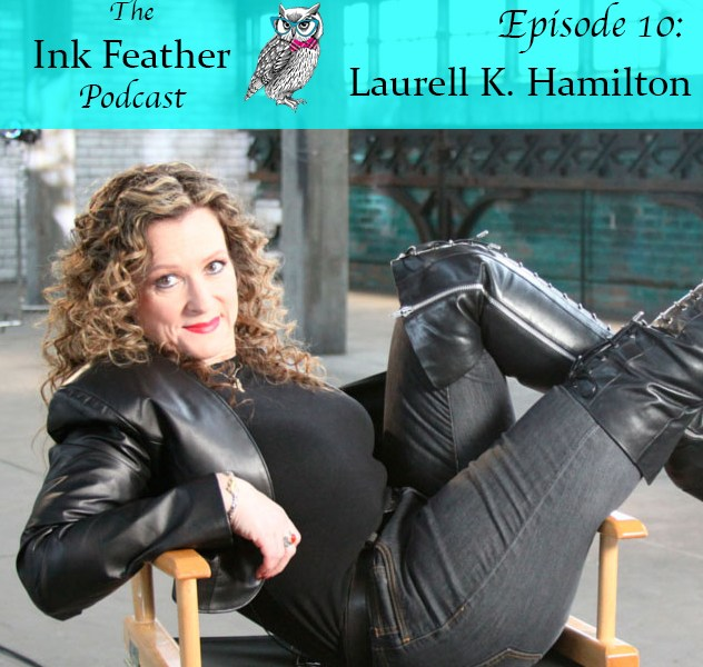 Podcast Episode 10: interview with author Laurell K. Hamilton!
