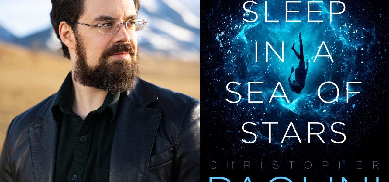 Podcast episode 44-  Christopher Paolini on the creation of his new book To Sleep in a Sea of Stars (Part one, spoiler Free!)