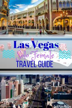 las vegas solo female travel guide