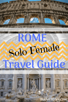 solo travel rome