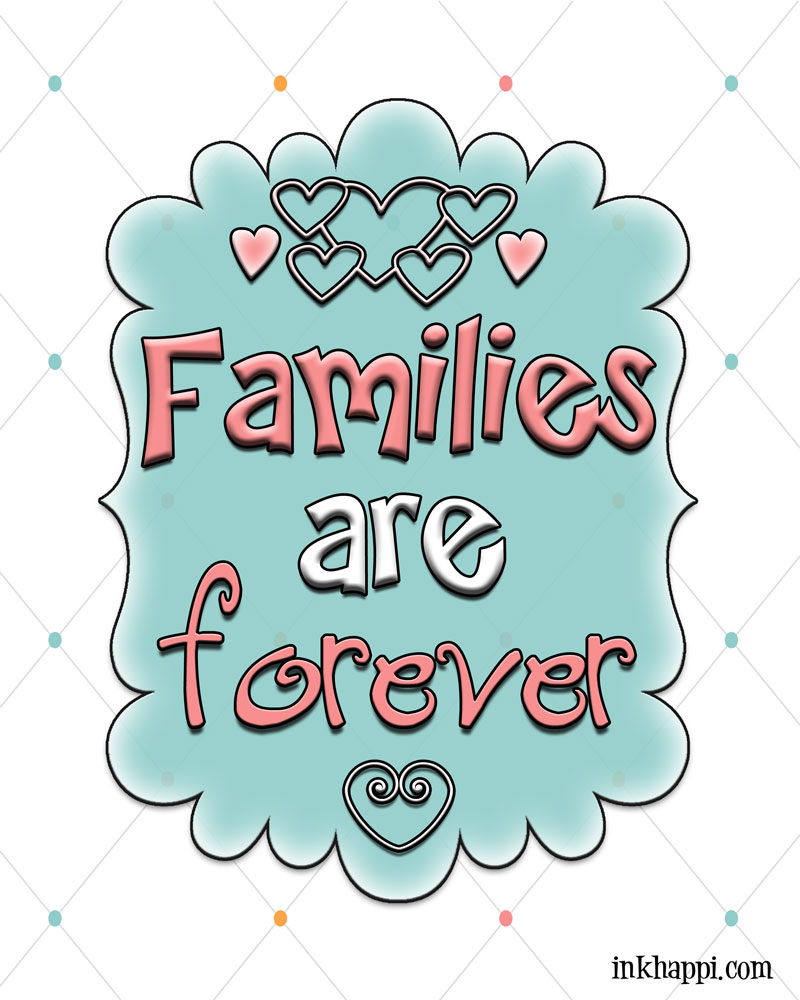 Family Amp Love Free Printables And Great Framed Gift Idea