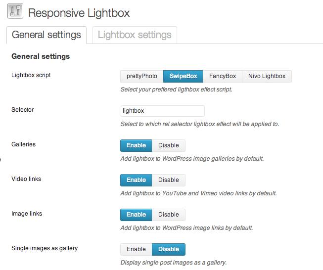 Responsive Lightbox