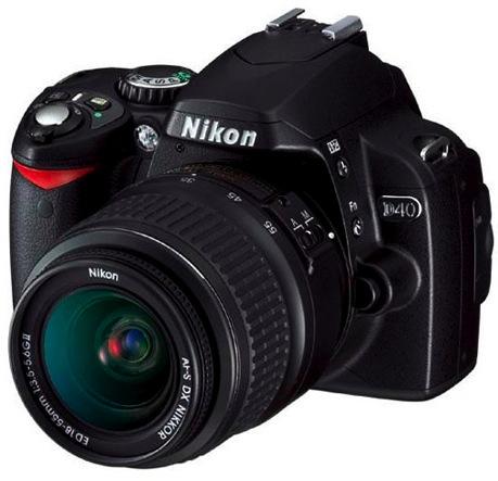 Nikon D40 gratis