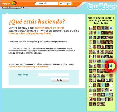 terra-twitter en español