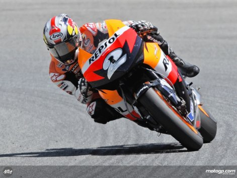 Dani Pedrosa motoGP 2008