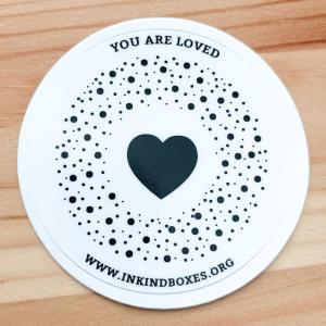 In Kind Logo Sticker
