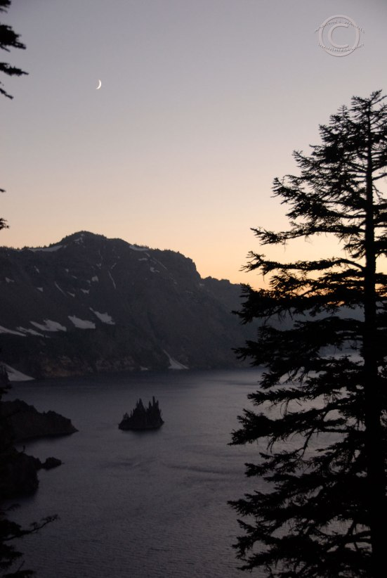 The Phantom Ship, Crater Lake