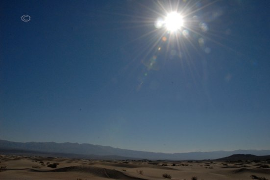 The Death Valley Sun