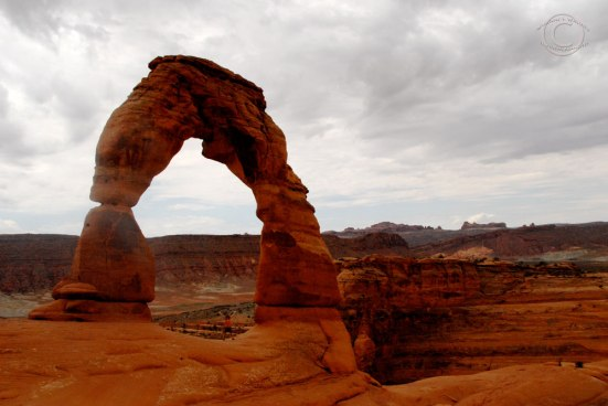 Me under the Delicate Arch