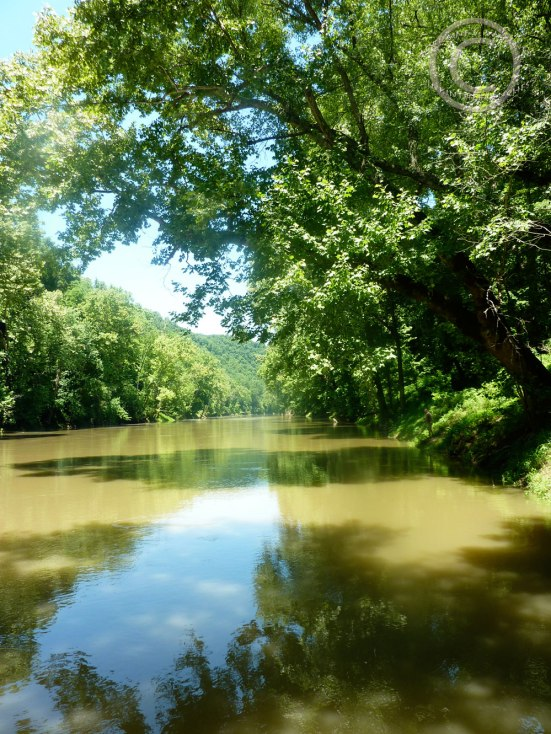The Green River, Mammoth Cave N.P>
