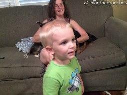 Adorable nephew #1!