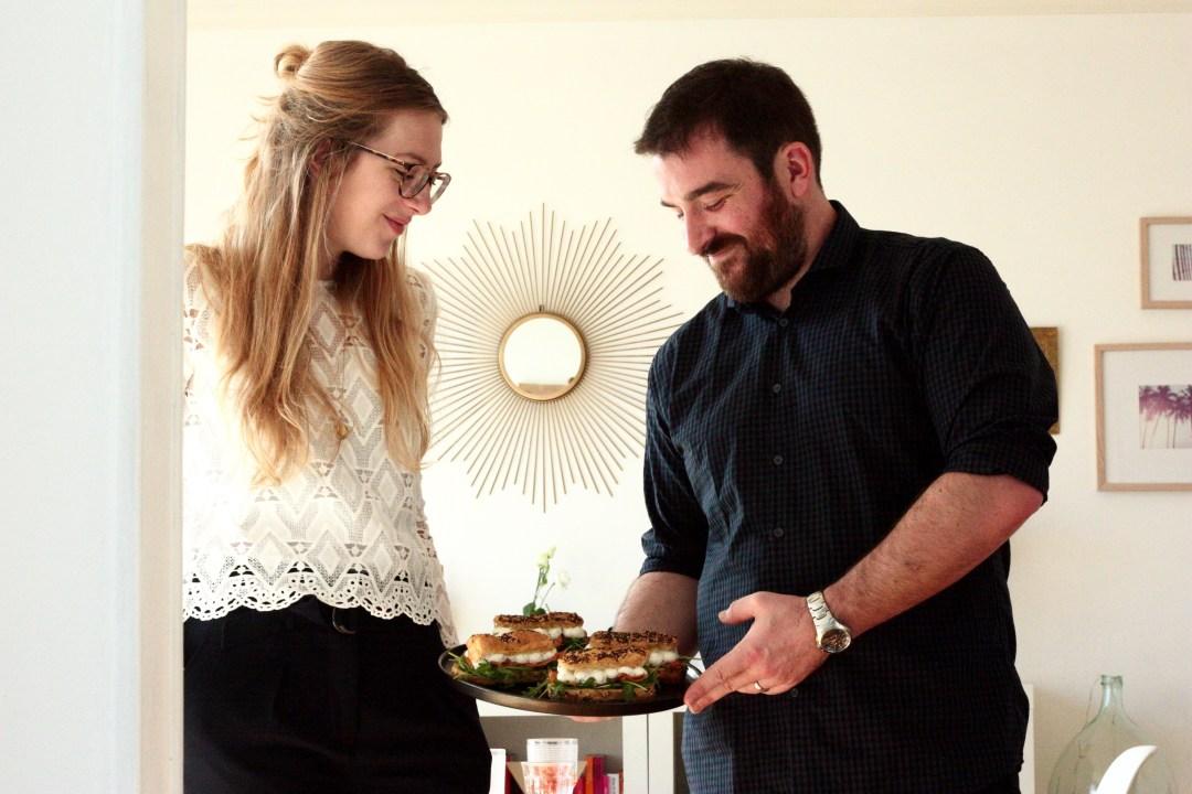 Angeline Melin et Constantin