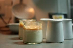 Pannacotta confiture de lait