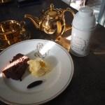 Gâteau au chocolat et fève tonka