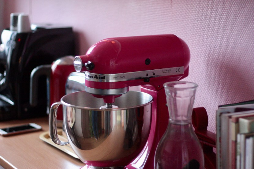 Gros plan Kitchen Aid rose
