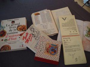 Carnets de recettes