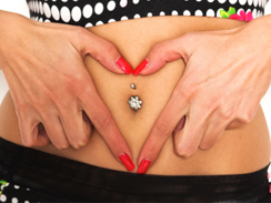 Ink It Tattoos Durban Belly Piercing