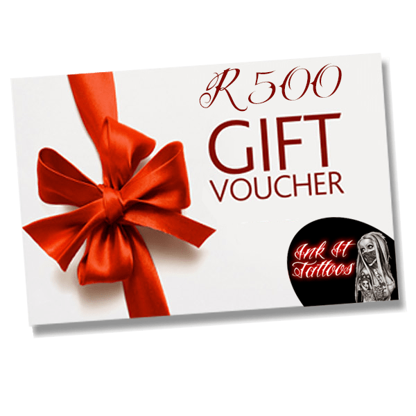 Ink It Tattoos R500 Gift Voucher