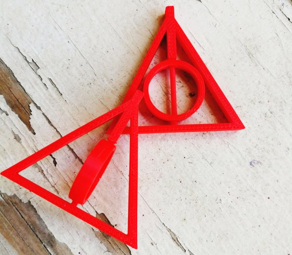 Deathly Hallows Pendant Ink It Tattoos Durban