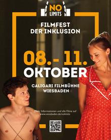 "Plakat ""No Limits - Filmfest der Inklusion""   © wiesbaden.de"